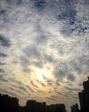 niebo chmura Zdjęcie Royalty Free