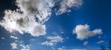 Niebo chmurnieje lot Obraz Royalty Free