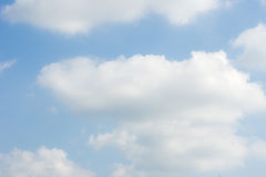 niebo, chmury Obrazy Royalty Free