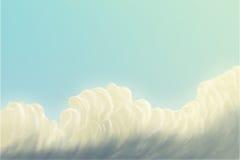 Niebo, chmury/ ilustracji