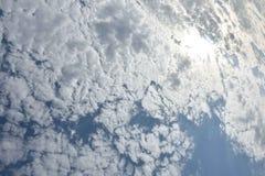 niebo, chmury Obrazy Stock