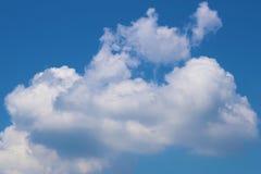 niebo, chmury niebieski fotografia stock