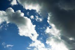 niebo, chmury niebieski Obraz Royalty Free
