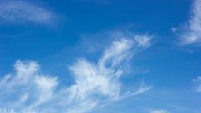 niebo, chmury niebieski Zdjęcia Stock