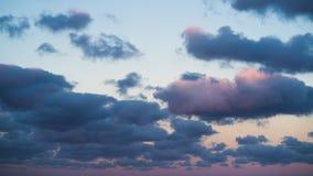 niebo, chmury niebieski Cloudscape, dzień Czasu upływ piękny zmierzch zbiory