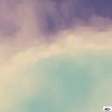 niebo, chmury niebieski mozaika Abstrakcjonistyczny siatki tło ilustracji