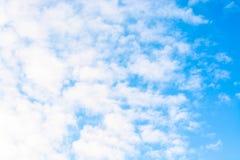 niebo, chmury niebieski tinted Zdjęcia Royalty Free