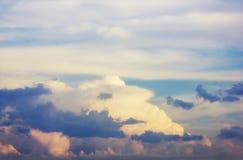 niebo, chmury słońca Obrazy Stock