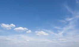 niebo, chmury słoneczny Obrazy Stock