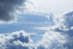niebo, chmury Tło fotografia royalty free