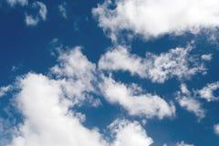 niebo, chmury tło Obraz Royalty Free