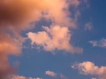niebo, chmury tło Obraz Stock