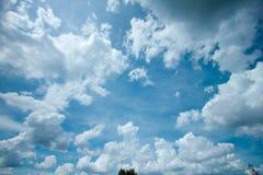 Niebo, chmury w Tajlandia Obraz Royalty Free
