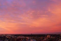 niebo, chmury wschód słońca Obraz Royalty Free