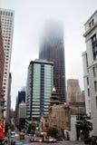 Niebo cykliny w mgle Fotografia Stock