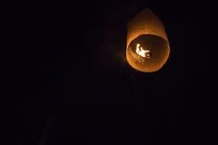 Niebo fajerwerku latarniowy festiwal Obrazy Royalty Free