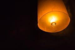 Niebo fajerwerku latarniowy festiwal Zdjęcie Royalty Free