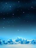 niebo gwiaździsty ilustracji