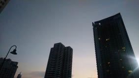 Niebo iść puszka nieba budynku niebo zdjęcia royalty free