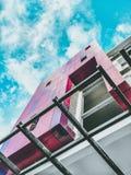 Niebo i budynek Zdjęcia Royalty Free
