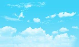 Niebo i chmurny Zdjęcie Royalty Free