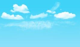 Niebo i chmurny Zdjęcia Royalty Free