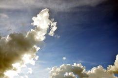 Niebo i Cloudscape tło Zdjęcia Royalty Free