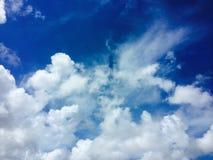 Niebo i mógł Fotografia Stock