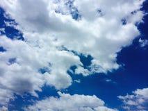 Niebo i mógł Obraz Stock