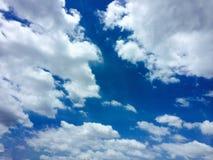 Niebo i mógł Zdjęcie Royalty Free