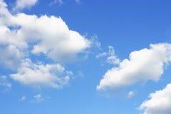 Niebo i menchii chmur tekstura, tło fotografia stock