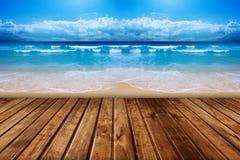 Niebo i morze Zdjęcie Royalty Free