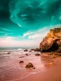 Niebo i skała Zdjęcia Stock