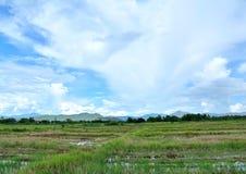 Niebo i tajlandzki kraj obrazy royalty free