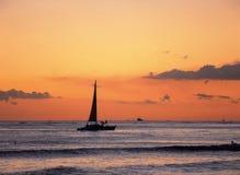 niebo jacht Zdjęcie Royalty Free
