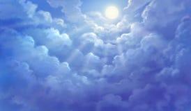 Niebo jest bardzo pięknym światłem dziennym Zdjęcie Stock