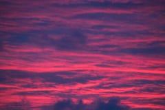 Niebo jest na ogieniu zdjęcia royalty free