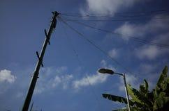 Niebo & kolumna Zdjęcie Royalty Free