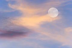 Niebo księżyc Obrazy Stock
