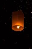 Niebo lampiony, Latający lampiony Obrazy Stock