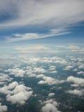 Niebo lotniczy widok Zdjęcie Royalty Free
