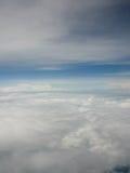 Niebo lotniczy widok Obraz Royalty Free