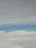 Niebo lotniczy widok Obrazy Royalty Free