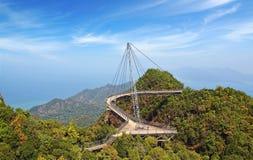 Niebo most. Langkawi Obraz Royalty Free
