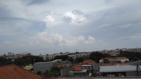 Niebo na Surabaya Zdjęcie Stock