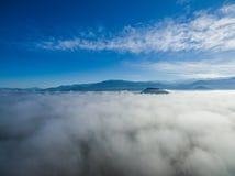 Niebo nad chmurami 04 Zdjęcie Royalty Free