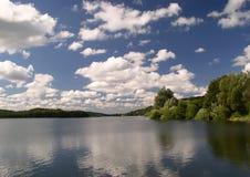 niebo nad jeziorem Fotografia Royalty Free