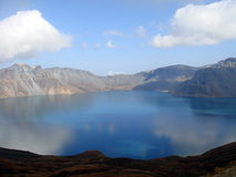 niebo nad jezioro zdjęcie royalty free