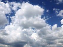 Niebo, nieba tło Obraz Stock
