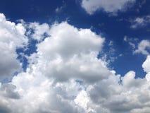 Niebo, nieba tło Obrazy Stock
